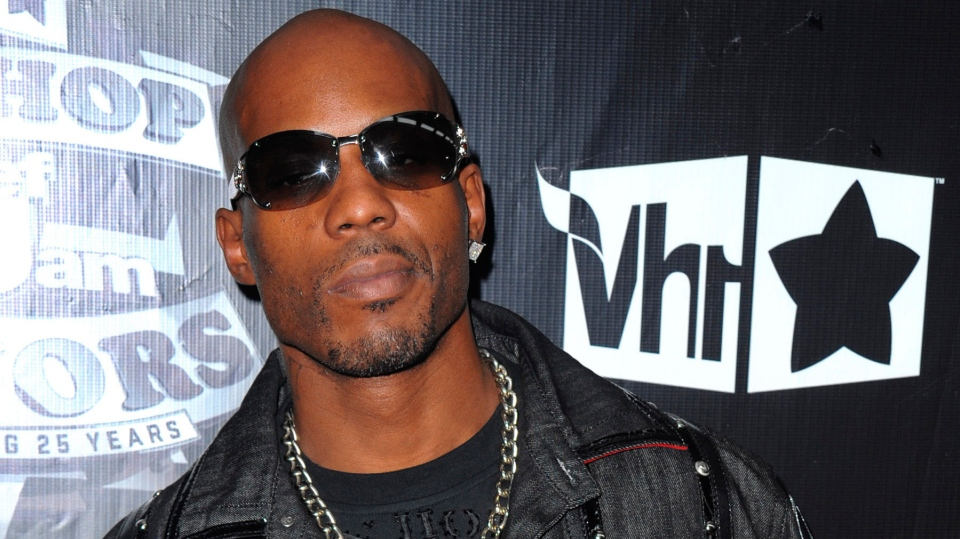 FILE - In this Sept. 23, 2009, file photo, DMX arrives at the 2009 VH1 Hip Hop Honors at the Brooklyn Academy of Music, in New York. DMX's longtime New York-based lawyer, Murray Richman, said the rapper was on life support Saturday, April 3, 2021 at White Plains Hospital.