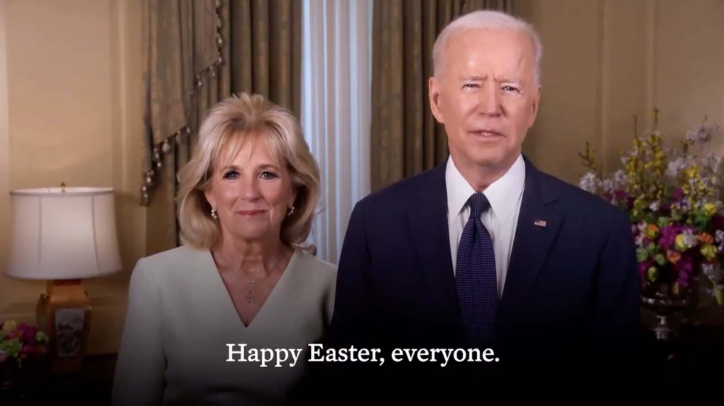 Joe Biden Easter