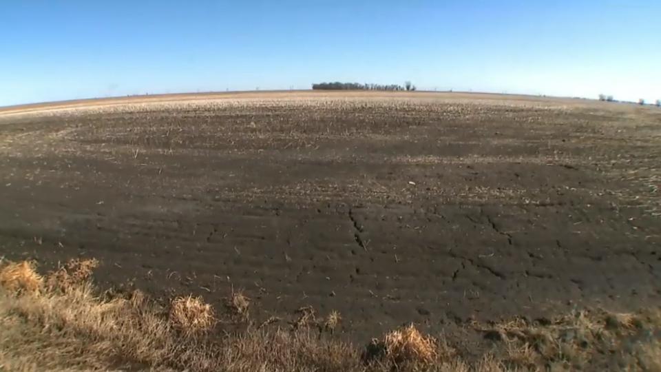 Manitoba dry weather