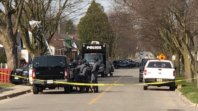 Heavy police presence in Brantford neighbourhood
