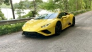 Lamborghini had its second best year ever in 2020 in terms of sales and turned its highest profit ever. (Peter Valdes-Dapena for CNN)