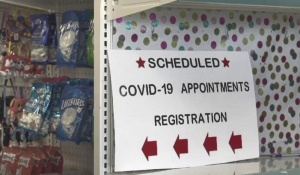 Walden Family Drugstore is ready to administer COVID-19 vaccines once they are delivered. The pharmacy in Lively is one of three pharmacies in the Sudbury district selected to offer vaccines. (Photo from video)