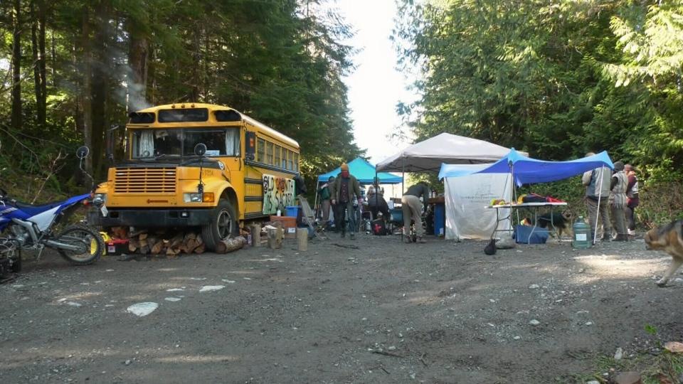 Fairy Creek protestors hunkering down