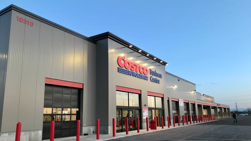 The Costco Business Centre in west Edmonton opened its doors Tuesday morning.