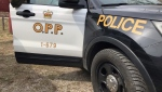 A motorist in Greater Sudbury managed to walk away after their vehicle collided with a train on Highway 17 on May 16. (File)