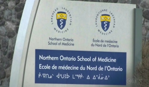 Former Sudbury mayor Jim Gordon is calling on the province to grant the Northern Ontario School of Medicine university status. (File)