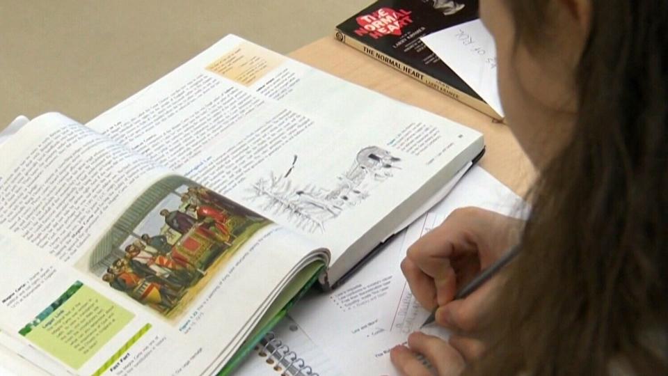 N.B. high school students prepare for return