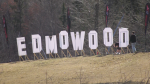 The people behind the mysterious Edmowood sign have been revealed. Tuesday April 6, 2021 (CTV News Edmonton)