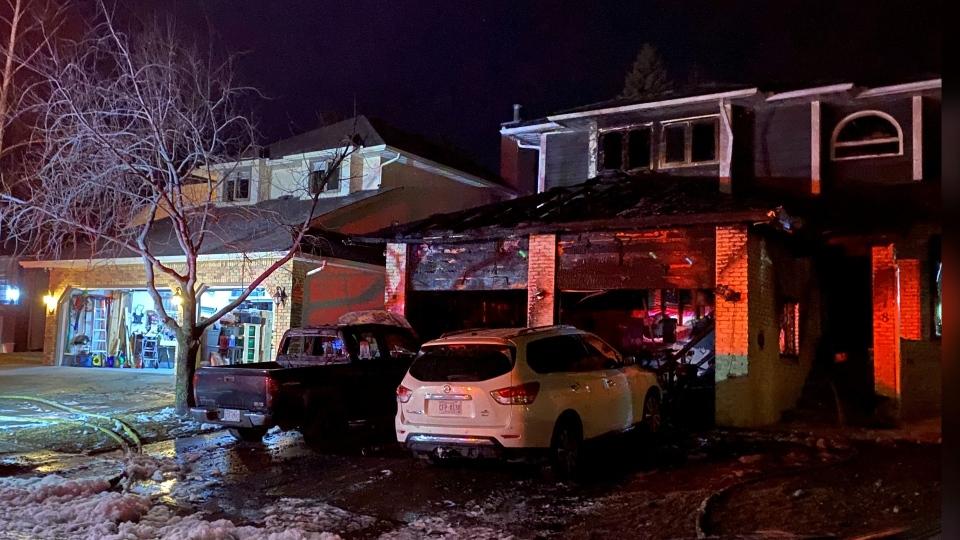 Shawnee, Shawnee Slopes, house fire