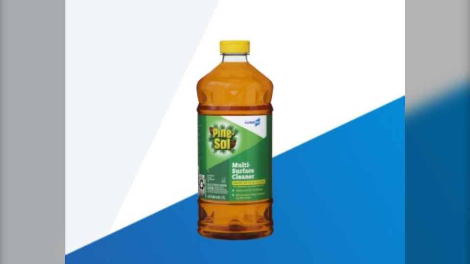 Clorox Pine-Sol Multi-Surface Cleaner Disinfectant. (Courtesy Cloroxpro.com)