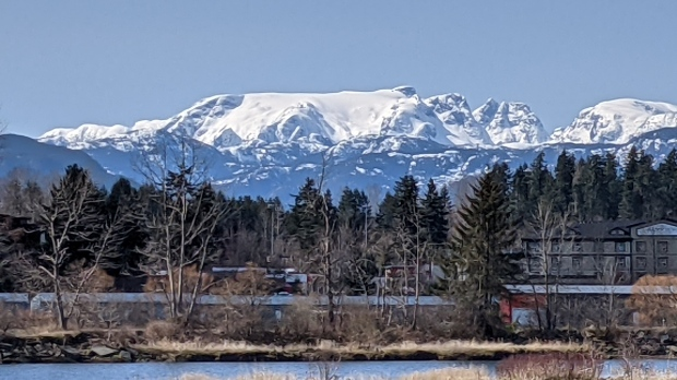 April 6, 2021: Glacier in Comox (Photo: Danielle LeBlanc)
