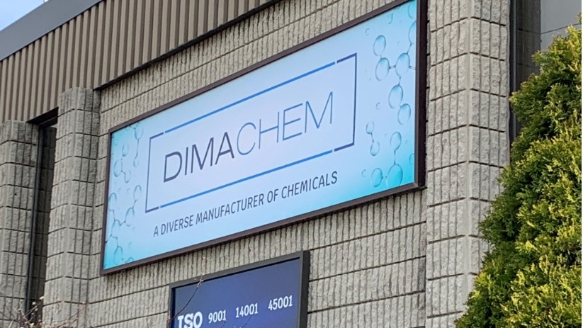 Dimachem Inc. in Windsor, Ont., on Wednesday, April 7, 2021. (Bob Bellacicco / CTV Windsor)