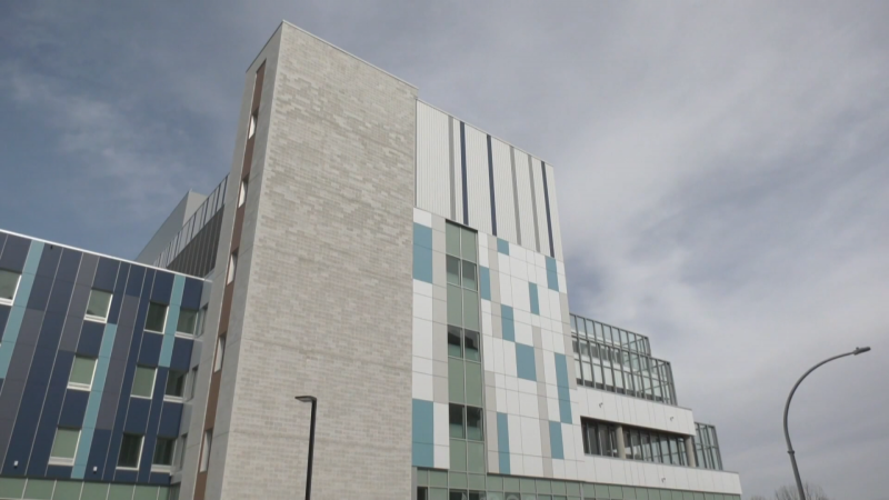 Royal Columbian Hospital is seen in 2021.