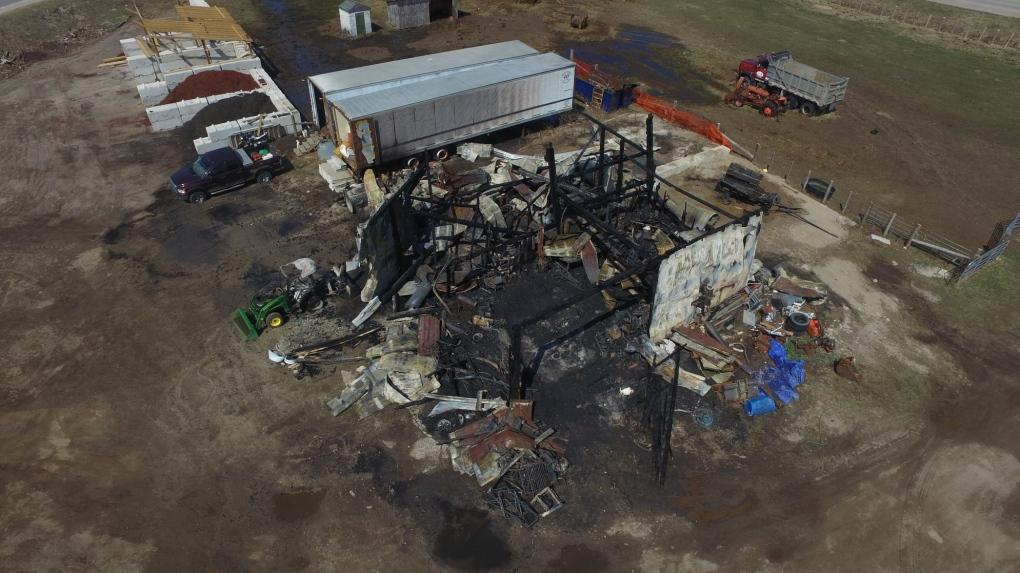 Saugeen Shores arson investigation