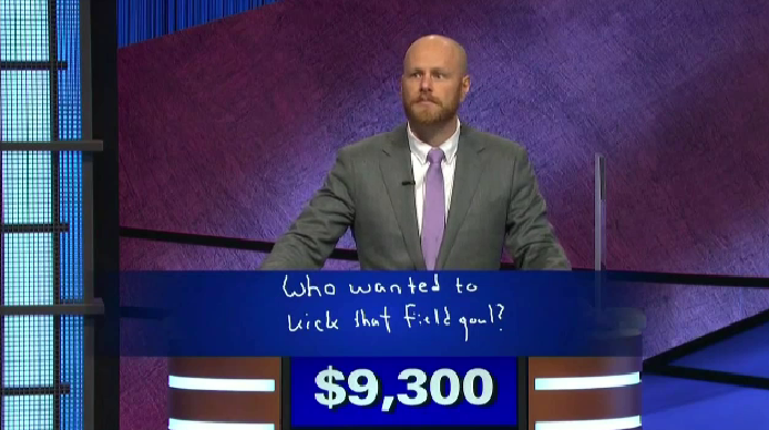 Tavistock man wins $50K on Jeopardy
