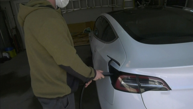 Electric vehicle owner react to new tax