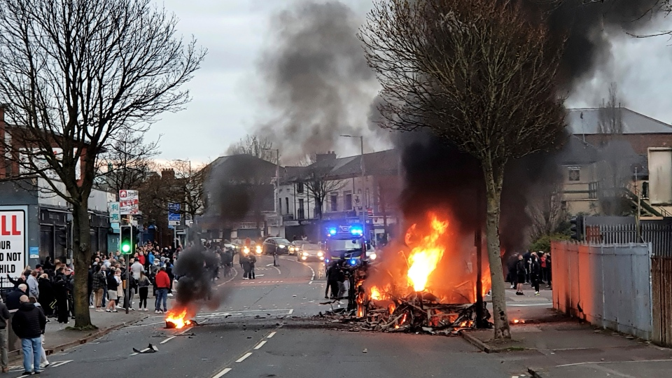 Northern Ireland violence