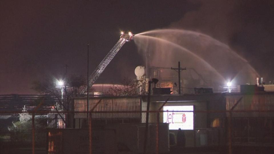 Ohio explosion at manufacturing plant