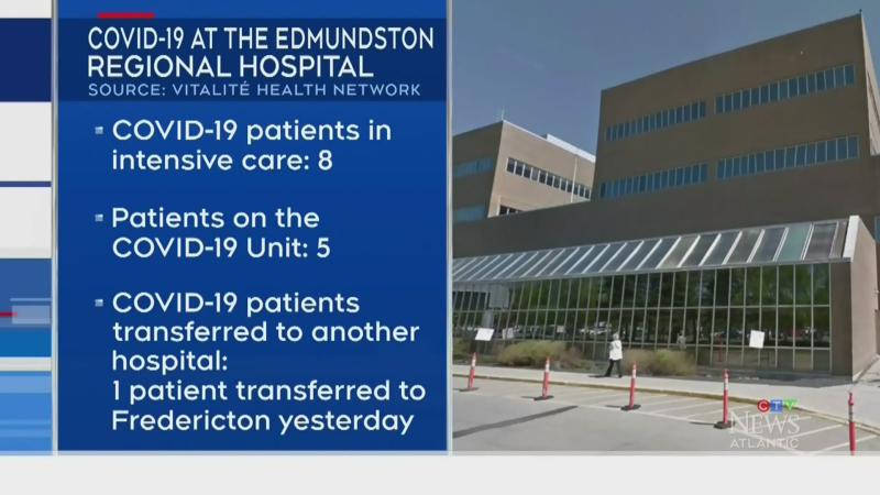 Edmundston area COVID outbreak continues