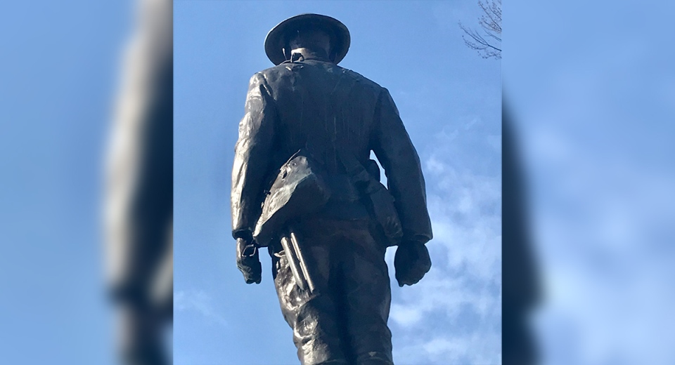 Rifle stolen from cenotaph