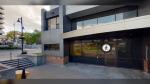 Entrance to CMHA Sudbury's integrated hub at 200 Larch Street downtown. (John Rumball Photography)