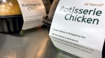 Rotisserie chickens can contain a lot of sodium.