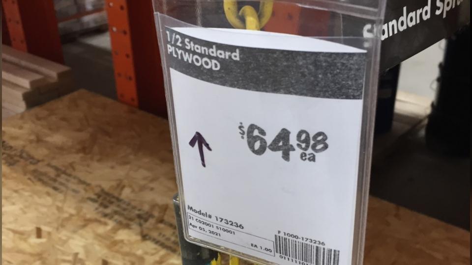 Lumber prices soar