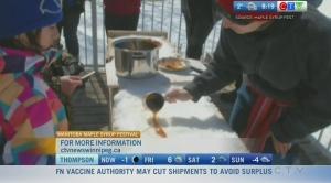 Celebrating Maple Syrup Fest in Manitoba