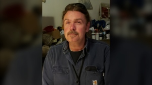 Rob White was presumed dead after falling through ice on the North Saskatchewan River while trying to rescue a stranger's dog on April 6, 2021. (Photo provided)