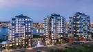 A rendering of the Dockside Green development in Vic West is shown: (Bosa Development)
