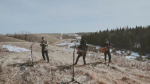 KISSEL ON A HILL PLAYING MUSIC