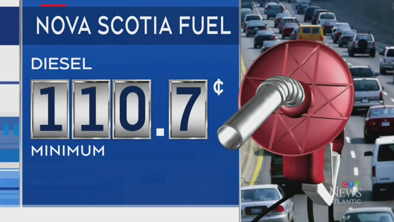 Gas prices up in N.S., P.E.I.