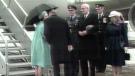 Rare royal kiss shared in Canada