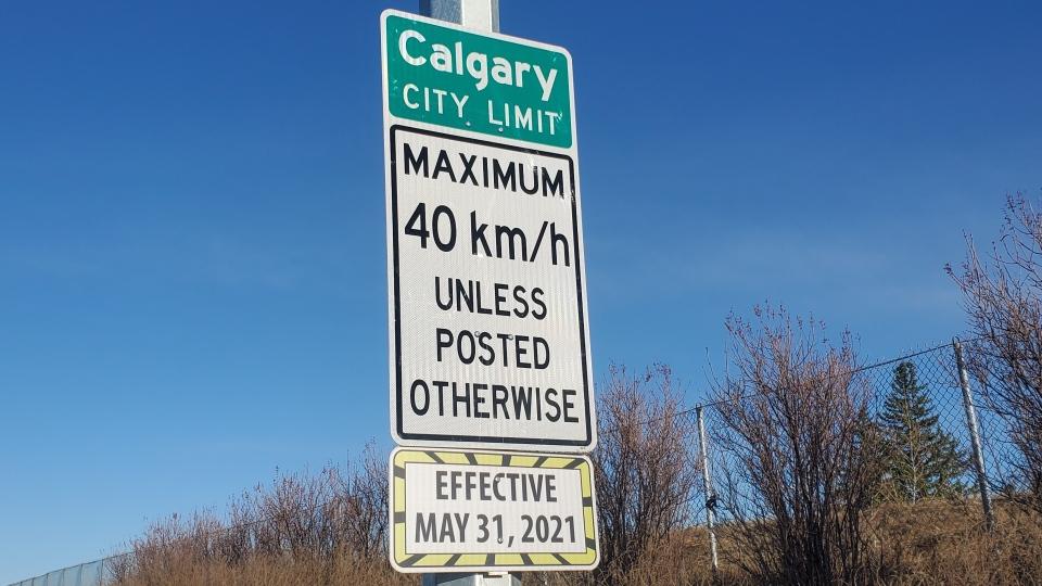 Calgary, speed limit, speed limits,