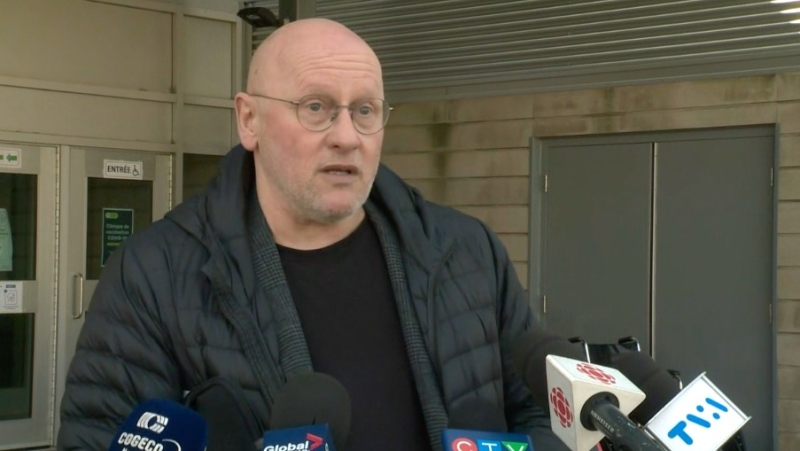 Dr. Andre Dontigny, Director of Public Health for the CIUSSS de la Capitale-Nationale said the vast majority of new COVID-19 cases in Quebec City are the U.K. variant. (CTV News)