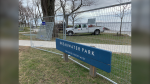 The city of Kingston is closing Breakwater Park for 10 days. (Kimberley Johnson/CTV News Ottawa)