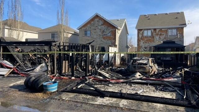 Summerside fire, 60 Street, Stanton Drive, April 9
