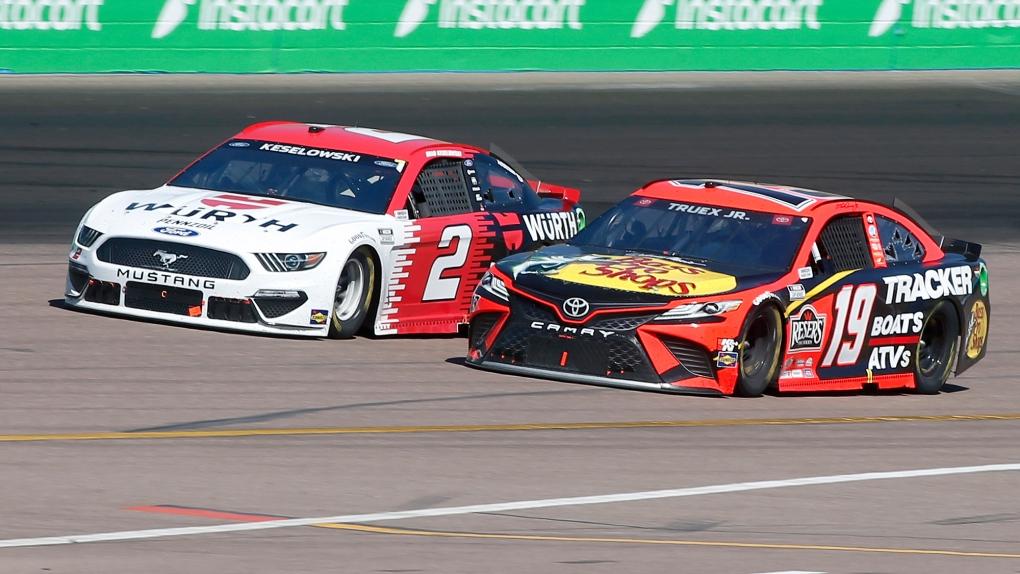 NASCAR Martin Truex Jr Brad Keselowski
