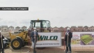 Construction begins on artificial turf field