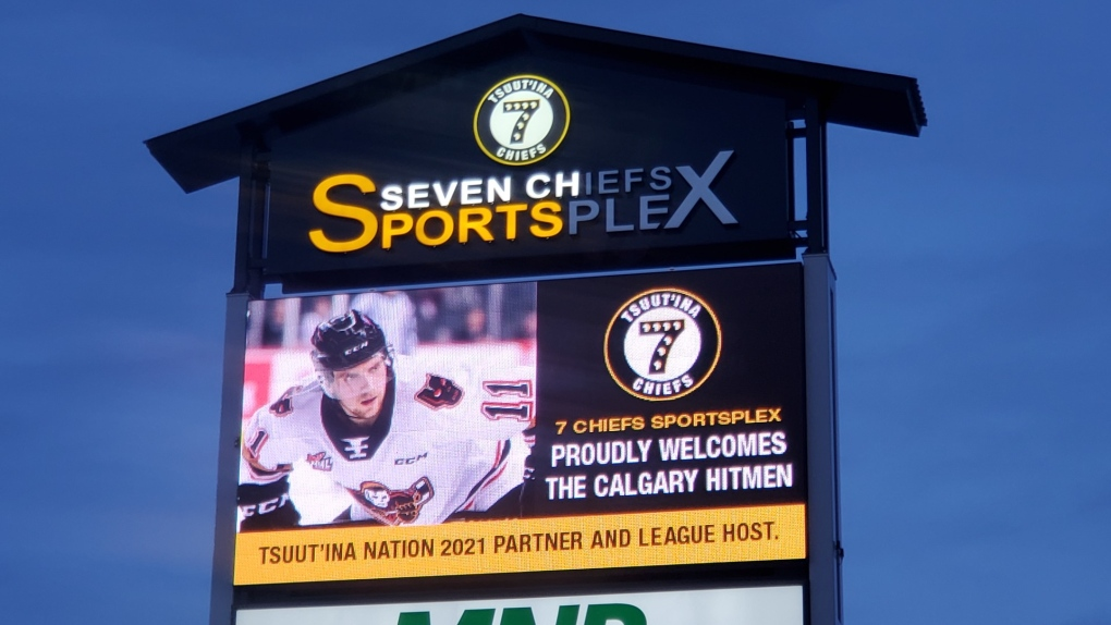 Calgary Hitmen, Tsuut'ina