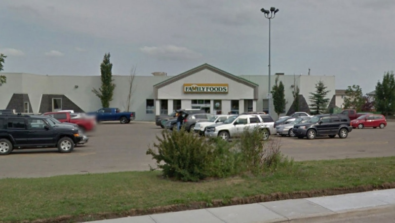 Sobeys Inc. has notified the public about seven cases of COVID-19 at its store in Blackfalds, Alta., but the province has not said if the location is listed as an outbreak. (File/Google Maps)