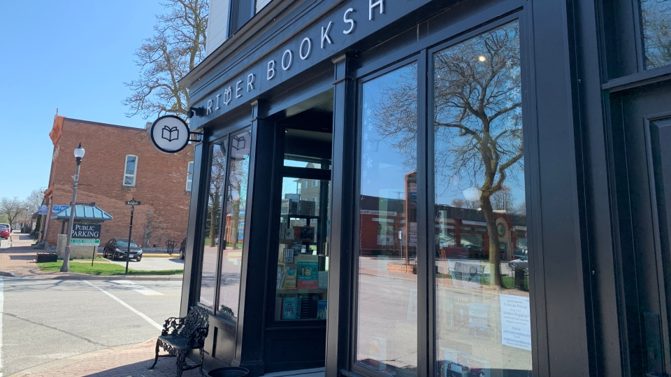 River Bookshop in Amherstburg, Ont., on Friday, April 9, 2021. (Rich Garton / CTV Windsor)