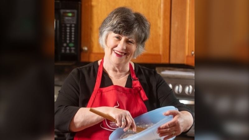 It started with a request from Mary Janet MacDonald's family when they asked her to share her baking skills online during the global COVID-19 pandemic. (Photo courtesy: Facebook/ Tunes and Wooden Spoons)