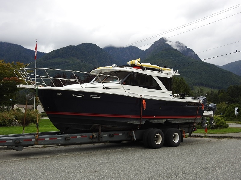 The boat seized in the 2019 incident is shown. While the vessel was returned, the owners had to forfeit the boat's engines: (Nootka Sound RCMP)