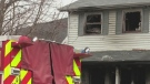 Two hospitalized after house fire