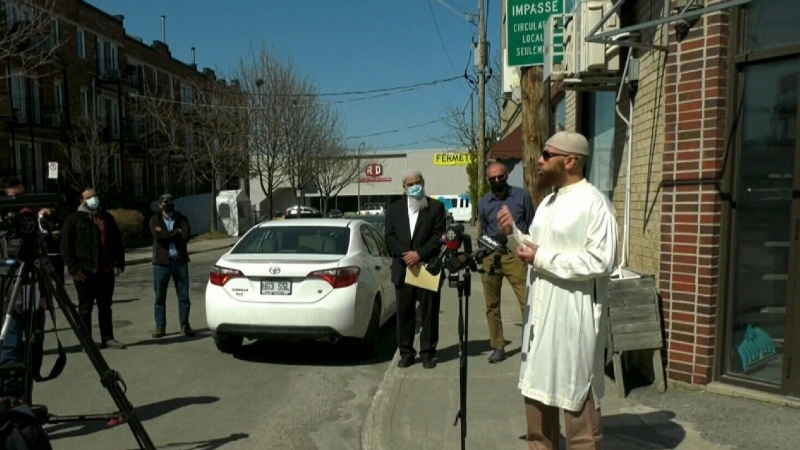 Nerves frayed after shots at mosque