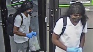 RCMP have released security camera images of the suspects in hopes someone will recognize them.