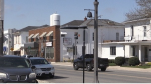 Aylmer, Ont. ,seen on Friday, April 9, 2021, along with part of Malahide Township, has been declared a COVID-19 hotspot. (Gerry Dewan / CTV News)