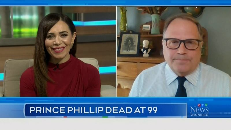 Royal commentator reacts to Prince Philip's death
