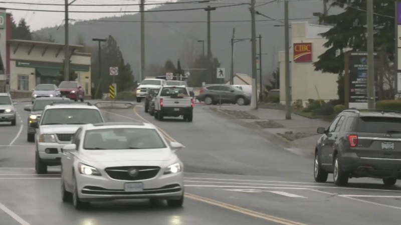 Sooke highway construction nearly complete